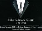 Josh's Ballroom Dancing Class