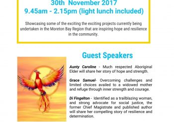 Moreton Bay Local Level Alliance is hosting a 'Show and Tell'
